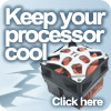 Keep your processor cool with our fans and heatsinks